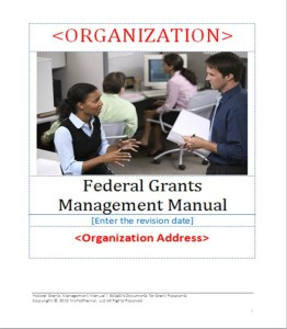 Editable Grant Management Manual