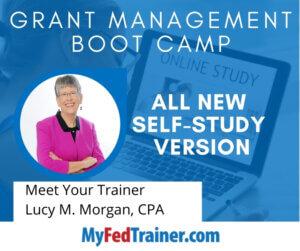 Grant Management Training self-study
